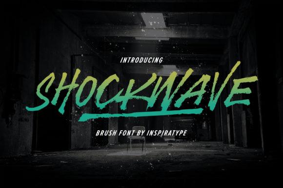 Shockwave Font