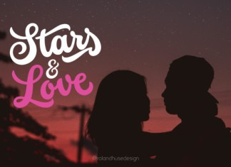 Stars & Love Font