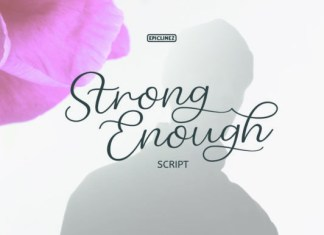 Strong Enough Font