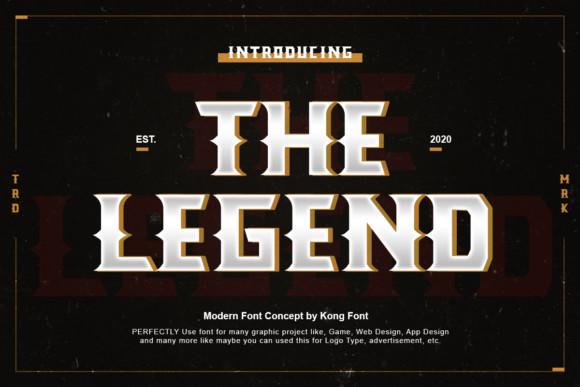 The Legend Font