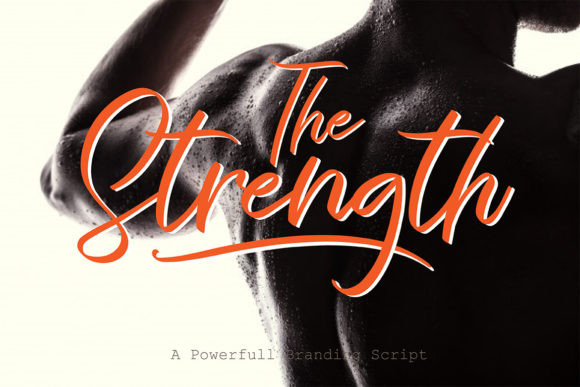 The Strength Font