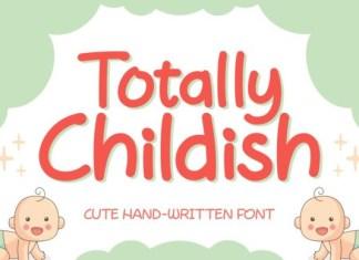 Totally Childish Font