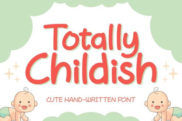 Totally Childish Font