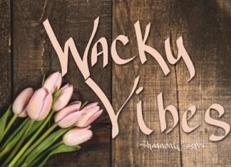 Wacky Vibes Font