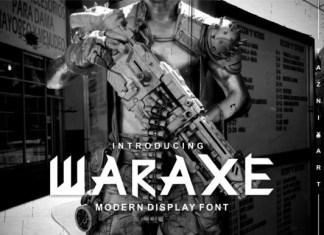 Waraxe Font