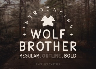 Wolf Brother Font