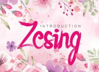 Zesing Font