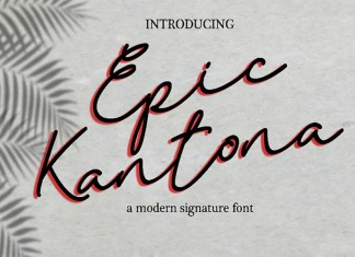 Epic Kantona Font