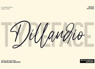 Dillandio Font