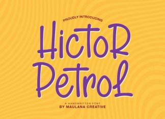 Hictor Petrol Font