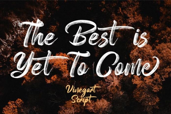 Vinegart Font