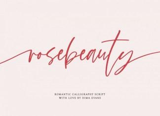 Rosebeauty Font