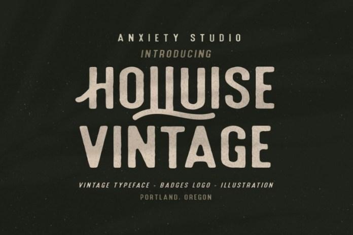 Holluise Vintage Font