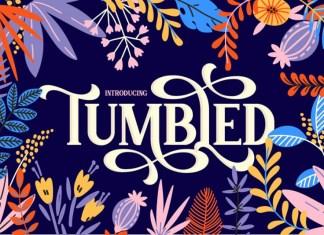 Tumbled Font