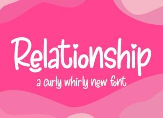 Relationship Font