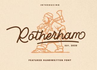 Rotherham Font