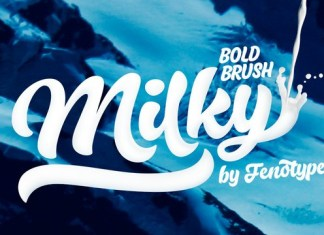 Milky Font