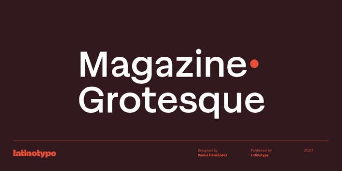 Magazine Grotesque Font