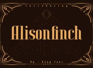 Alison Finch Font