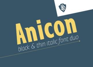 Anicon Font