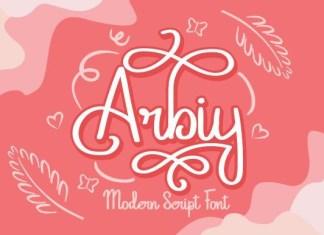 Arbiy Font
