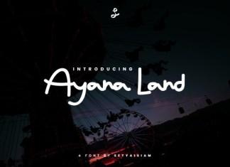 Ayana Land Font