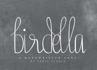 Birdella Font