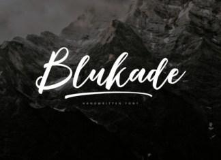 Blukade Font