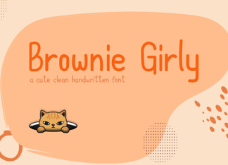 Brownie Girly Font