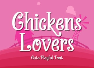 Chickens Lovers Font