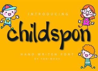 Childspon Font