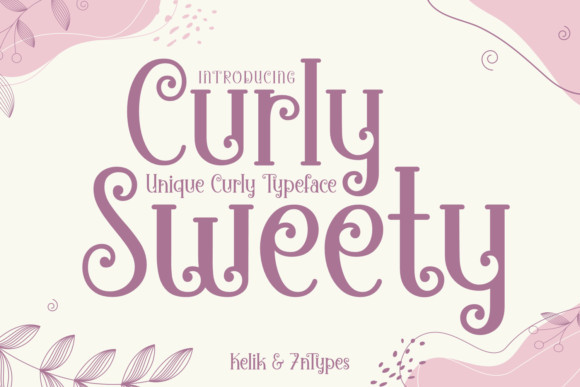 Curly Sweety Font