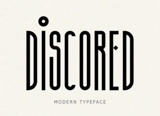 Discored Font