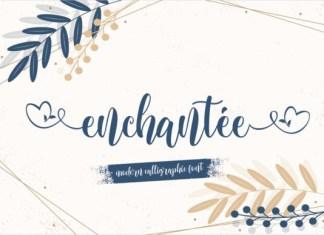 Enchantee Font