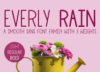 Everly Rain Font