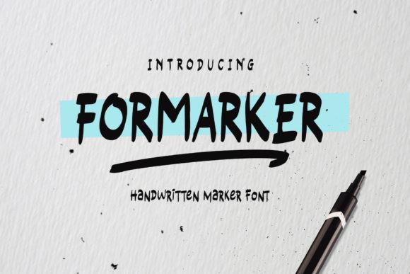 Formarker Font