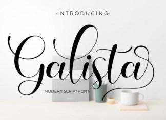 Galista Font
