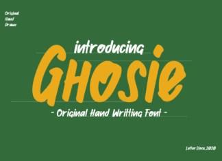 Ghosie Font