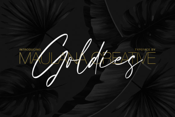 Goldies Font