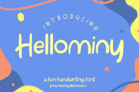 Hellominy Font