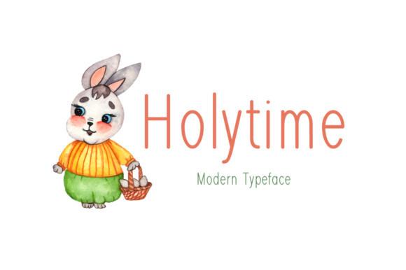 Holytime Font