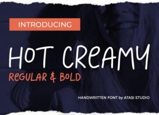 Hot Creamy Font