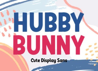 Hubby Bunny Font
