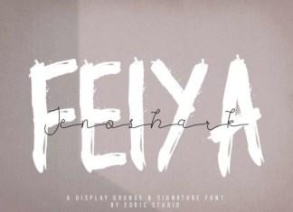 Jenoshark Feiya Font