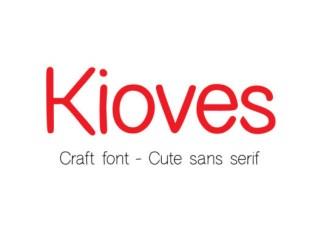 Kioves Font