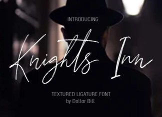 Knights Inn Font