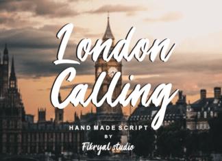London Calling Font