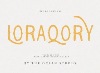 Loraqory Font