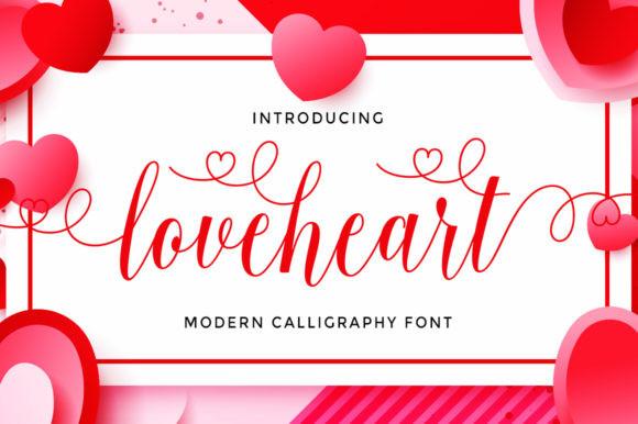 Loveheart Font