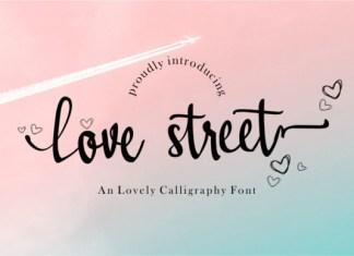 Lovestreet Font